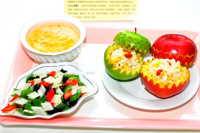 儿童营养可爱造型饭